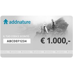 addnature Gift Voucher, 1000 €